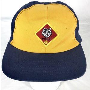 Boy Scouts of America Cub Scouts Wolf Hat Cap Adj